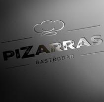 Pizarras Gastrobar. Um projeto de Br e ing e Identidade de Julio del Río - 01-09-2016