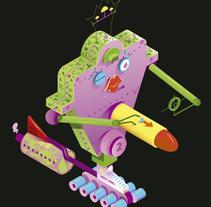 Mini Mechas-Kaiju. Um projeto de 3D de Alvaro Ramos Candia         - 21.03.2017