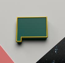 All Connected - 36 Days of Type. Un proyecto de Diseño, Ilustración, 3D, Dirección de arte, Diseño gráfico y Tipografía de Alejandro Olmedo - 21-03-2017