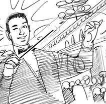 SHOOTING BOARDS. Un proyecto de Ilustración y Publicidad de Davis Lisboa         - 13.06.2016