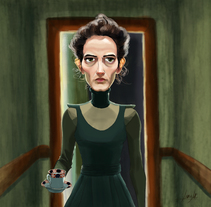 Vanessa Ives Fanart. A Illustration, Character Design, and Fine Art project by Inma MC         - 23.03.2017
