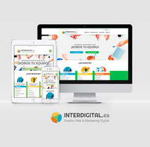 Interdigital. A Design, UI / UX, and Web Development project by Borja Cabeza Cabello         - 29.10.2017