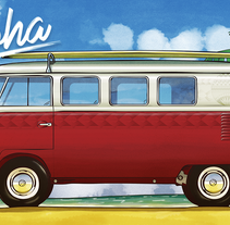 Aloha . A Illustration project by David Eduardo Rodriguez Lema         - 28.03.2017