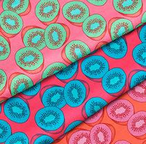 Sweet Kiwi Pattern Collection. Un proyecto de Diseño e Ilustración de Marta Girabal Montaner         - 30.03.2017