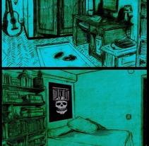 """"""" the inside room """". Un proyecto de Ilustración y Comic de pablo santos rey         - 05.04.2017"""