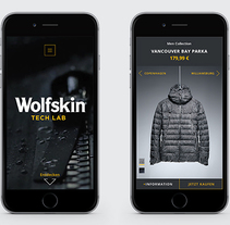 Wolfskin Tech Lab. A UI / UX, Graphic Design, and Web Design project by Hendrik Hohenstein         - 07.04.2017