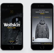 Wolfskin Tech Lab. Un proyecto de UI / UX, Diseño gráfico y Diseño Web de Hendrik Hohenstein         - 07.04.2017