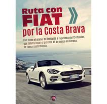 Creatividad invitación FIAT 124. Un proyecto de Diseño, Dirección de arte, Diseño gráfico, Post-producción, Tipografía y Collage de Javier Gómez Ferrero - 31-03-2017