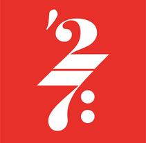 AL COMPÁS DEL 27 Flamenco y Poesía | Propuesta . Un proyecto de Dirección de arte, Br, ing e Identidad, Diseño gráfico y Caligrafía de Fran Sánchez         - 06.02.2017