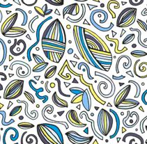 """""""No se dibujar pero no importa!"""": Diseño de estampados textiles. Un proyecto de Diseño gráfico de Lorena Amuso - 15-04-2017"""