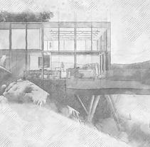 Mi Proyecto del curso: Representación de espacios arquitectónicos con 3D Studio Max. A Architecture project by Luca Porretta         - 18.04.2017