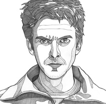David Haller - Legion. A Illustration project by Rubén Megido         - 17.04.2017