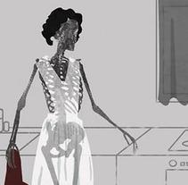 """Ilustración para relato """"Si eso lo dejamos … """". A Illustration project by Elvira Inés Lorenzo Lorenzo         - 24.04.2017"""