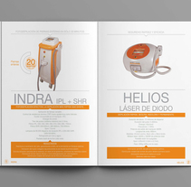 Catálogo Unión  Láser. Un proyecto de Diseño editorial de Angela Maria Lopez         - 01.01.2016