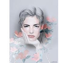 Retrato. A Design, Illustration, Advertising, Editorial Design, Fashion, Fine Art, Graphic Design, and Painting project by Alicia Latorre         - 25.04.2017