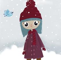Winter. Un proyecto de Diseño, Ilustración e Ilustración vectorial de Irene Ibáñez Gumiel - 27-04-2017