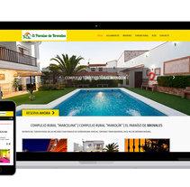 El Paraíso de Brovales - Casas Rurales. A Web Design project by Luis Mazuecos Salas         - 28.04.2016
