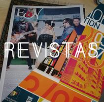 Revistas EDN y Memoria de Gestión IMV del Ayuntamiento de Málaga. A Design, Art Direction, Editorial Design, and Graphic Design project by J.M. Chafino         - 02.05.2017