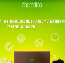 Estudio Metodico v.2. A Web Design, and Web Development project by Borja Chacón - 01-05-2017