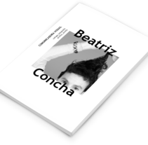 BeatrizConcha_DiseñoEditorial. Un proyecto de Diseño editorial de xavi marí torres         - 09.05.2017