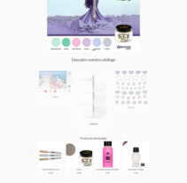 NeaNails. A Design, Web Design, and Web Development project by Rafael Pastor García - 10-09-2016