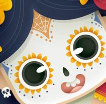Martina La Catrina. Un proyecto de Ilustración e Ilustración vectorial de Laura García Mañas - 16-05-2017