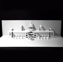 Kirigami Palace. A Photograph, Crafts, and Graphic Design project by Noelia Barreda         - 17.05.2017