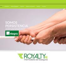 Royalty Re. Um projeto de UI / UX, Web design e Desenvolvimento Web de Pablo Núñez Argudo         - 02.02.2016