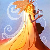 Desert Meditation. A Design, Illustration, and Character Design project by Gema Moratilla         - 18.05.2017