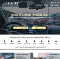 Diseño web · Anónimo Detectives. A Web Design project by Sara Morán - 30-05-2017