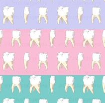 Teeth. Un proyecto de Diseño de patrones de Marina Morcillo Gómez - 01-06-2017