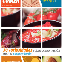 "Maquetación suplemento ""Saber comer"". A Editorial Design, and Graphic Design project by Jorge de la Fuente Fernández         - 10.03.2017"