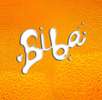 BIBA, cerveza rubia. A Design, Advertising, Art Direction, Br, ing, Identit, Fine Art, Graphic Design, Product Design, T, pograph, Web Design, Web Development, Calligraph, and Lettering project by Lola Téllez - 05-06-2017