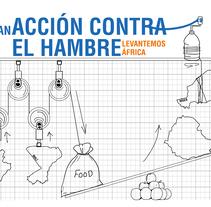 Campaña gráfica para Acción Contra el Hambre (copy y concepto). A Advertising project by Óscar Jiménez Otero         - 07.06.2017