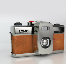 LOMO bauhaus · camera. A Design, 3D, and Graphic Design project by Guillermo Amengual Garrido         - 08.06.2017