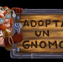 ADOPTA UN GNOMO. A Design&Illustration project by Natalia         - 09.06.2017