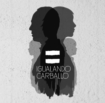 Igualando Carballo. A Art Direction, Education, and Graphic Design project by DMcreatividad          - 19.06.2017