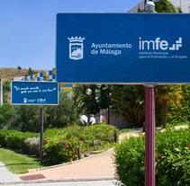 Diseño interior oficinas sede central IMFE PTA Málaga. Un proyecto de Diseño de interiores de DIKA estudio  - 20-06-2017