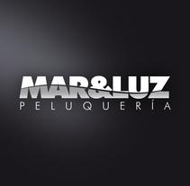 Peluquería MAR&LUZ. Um projeto de Design gráfico e Design de interiores de Ismael Pachón         - 15.03.2016