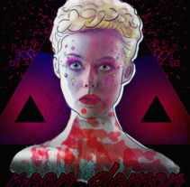 Neon Demon - Ellen Fanning. A Illustration project by Andre Filipe Sousa         - 04.07.2017
