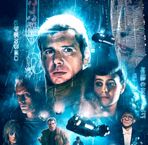 BLADE RUNNER. A Illustration, and Film project by Ignacio RC  - 27-06-2017