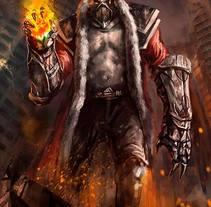 Fire Stalker.. Un proyecto de Ilustración y Diseño de personajes de Adrián Iglesias - 27-06-2017
