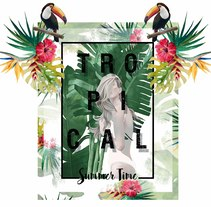 TROPICAL. A Design project by Digna Capella - 29-06-2017