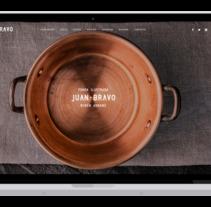 Juan Bravo - Fonda Ilustrada. Un proyecto de Desarrollo Web de David thehobocode - 03-05-2017