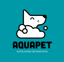Aquapet - identidad de marca. A Br, ing, Identit, Marketing, and Pictogram design project by Rubén Megido         - 03.07.2017