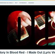 Proyecto audiovisual; lyric video. Un proyecto de Motion Graphics, Animación, Multimedia, Tipografía y Vídeo de Sofia Garcia (eseø)         - 04.07.2017