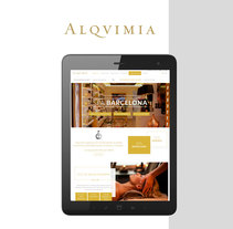 Alqvimia. A UI / UX, Creative Consulting, Graphic Design, Web Design, and Web Development project by 6tems Comunicació Interactiva         - 05.07.2017