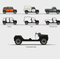 mOdul - The first modular car for all. A Design, 3D, Automotive Design, Design Management, and Product Design project by Adrián García De Jesús Lopes         - 14.09.2015