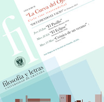 Posters UGR conferencias. A Design project by PERRORARO         - 16.07.2015