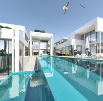 Renders de una villa de lujo en El Toro, Mallorca. A 3D, and Architecture project by Artic 3D         - 20.07.2017